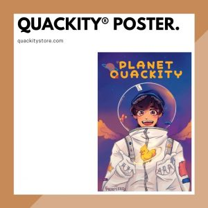 Quackity Posters