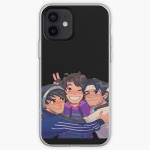 Karl, Sapnap and Quackity iPhone Soft Case RB2905 product Offical Quackity Merch