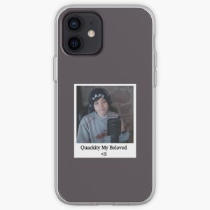 Quackity my beloved (Polaroid) iPhone Soft Case RB2905 product Offical Quackity Merch