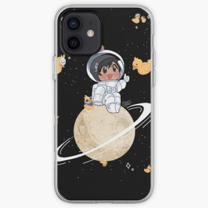 Quackity Duck Planet iPhone Soft Case RB2905 product Offical Quackity Merch
