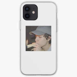 Quackityhq Smoking A Burrito iPhone Soft Case RB2905 product Offical Quackity Merch