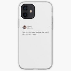 Quackity Tweet iPhone Soft Case RB2905 product Offical Quackity Merch