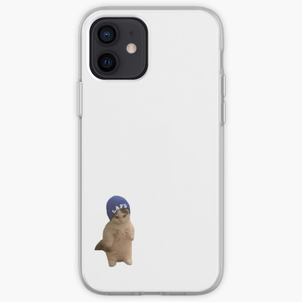 Quackity Beanie Cat iPhone Soft Case RB2905 product Offical Quackity Merch