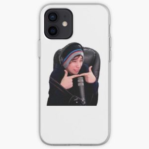 Quackity cute aesthetic funny iPhone Soft Case RB2905 product Offical Quackity Merch