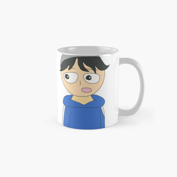 quackity and karl animation Classic Mug RB2905 product Offical Quackity Merch