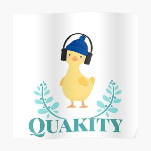 Quackity artist design Poster RB2905 product Offical Quackity Merch