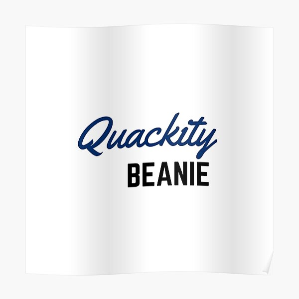 Quackity Beanie Poster RB2905 product Offical Quackity Merch