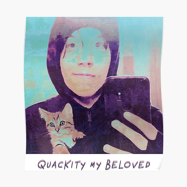 Quackity My Beloved Poster RB2905 product Offical Quackity Merch