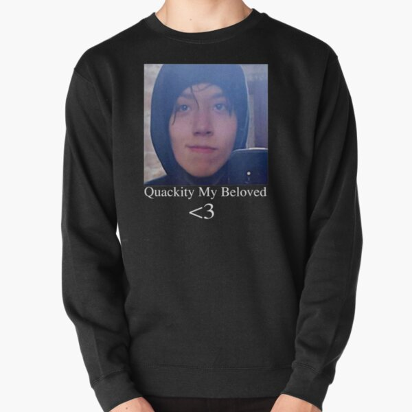 Quackity My Beloved Tee Pullover Sweatshirt RB2905 product Offical Quackity Merch
