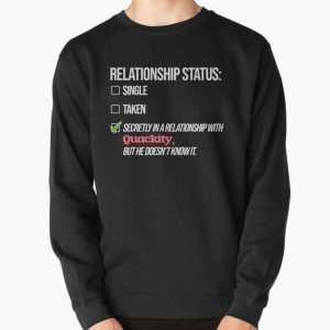Relationship with Quackity Pullover Sweatshirt RB2905 product Offical Quackity Merch