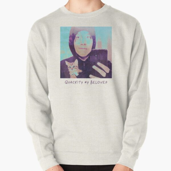 Quackity My Beloved Pullover Sweatshirt RB2905 product Offical Quackity Merch