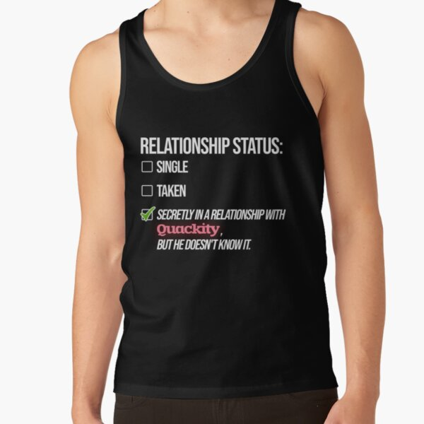 Relationship with Quackity Tank Top RB2905 product Offical Quackity Merch