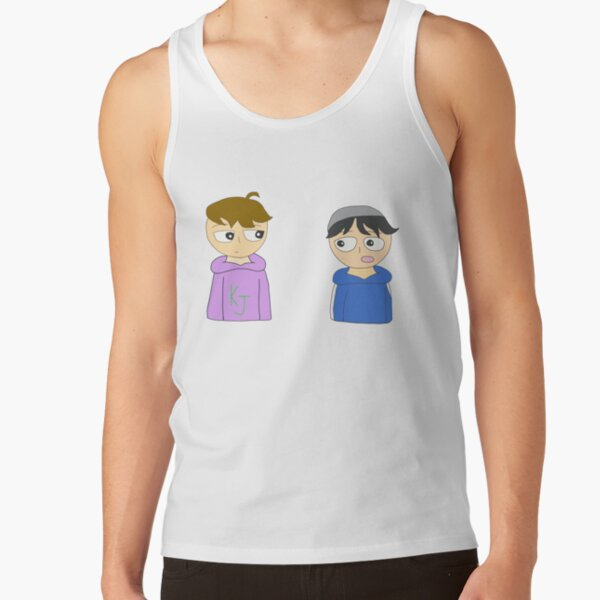 quackity and karl animation Tank Top RB2905 product Offical Quackity Merch