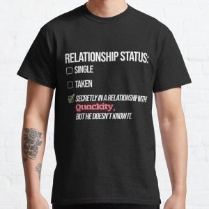 Relationship with Quackity Classic T-Shirt RB2905 product Offical Quackity Merch