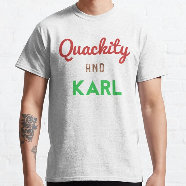 Quackity And Karl  Classic T-Shirt RB2905 product Offical Quackity Merch