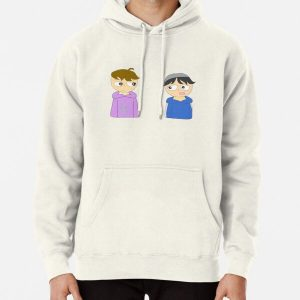 quackity and karl animation Pullover Hoodie RB2905 product Offical Quackity Merch