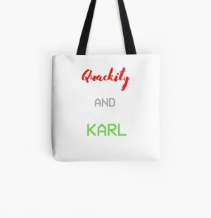 quackity and karl All Over Print Tote Bag RB2905 product Offical Quackity Merch