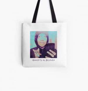 Quackity My Beloved All Over Print Tote Bag RB2905 product Offical Quackity Merch