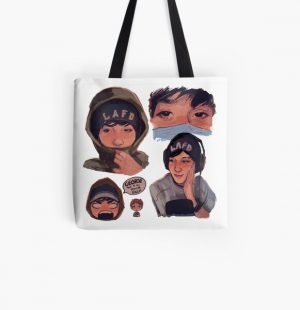 Quackity All Over Print Tote Bag RB2905 product Offical Quackity Merch