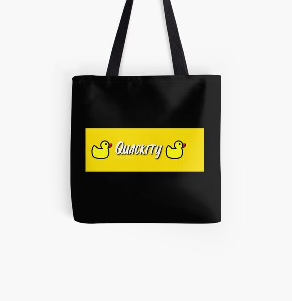Grab It Fast - quackity  All Over Print Tote Bag RB2905 product Offical Quackity Merch