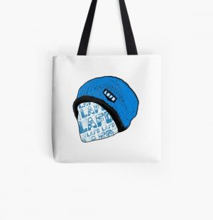 Quackity Beanie All Over Print Tote Bag RB2905 product Offical Quackity Merch