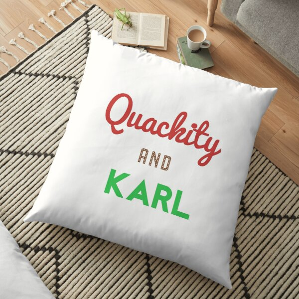 Quackity And Karl  Floor Pillow RB2905 product Offical Quackity Merch