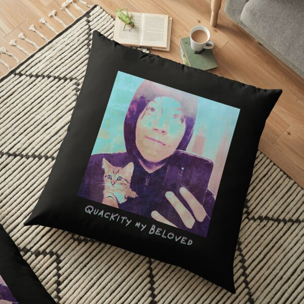 Quackity My Beloved Floor Pillow RB2905 product Offical Quackity Merch