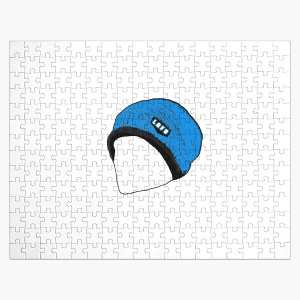 Quackity Beanie Jigsaw Puzzle RB2905 product Offical Quackity Merch