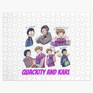 Quackity and Karl Jigsaw Puzzle RB2905 product Offical Quackity Merch