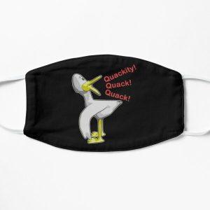 Quackity, quack, quack! Flat Mask RB2905 product Offical Quackity Merch