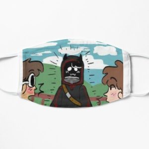 quackity and karl Flat Mask RB2905 product Offical Quackity Merch