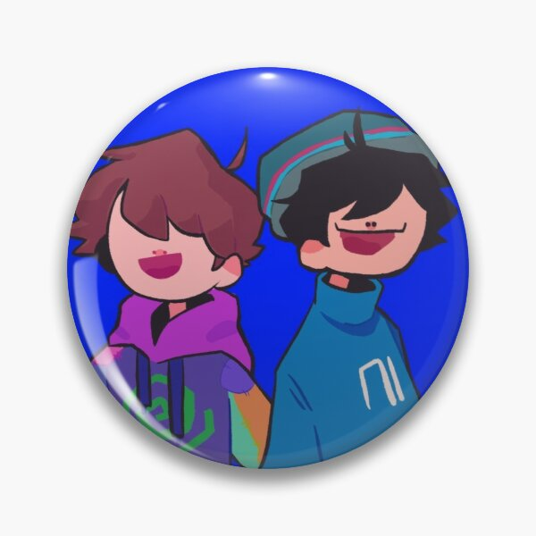 Duo! [ Quackity & Karl ]  Pin RB2905 product Offical Quackity Merch