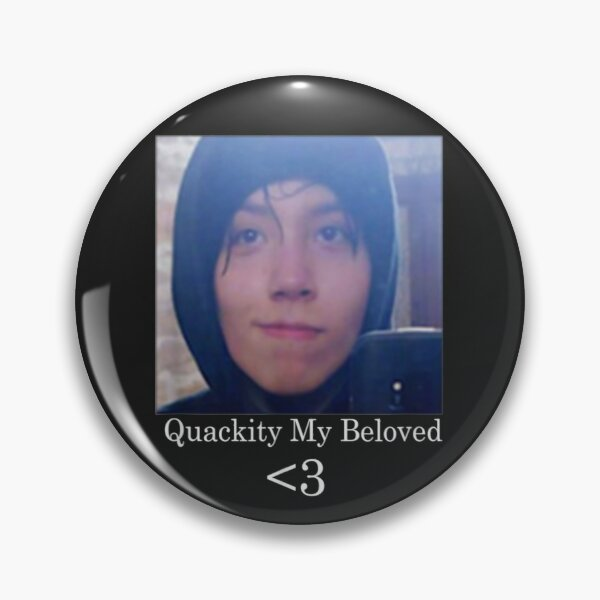 Quackity My Beloved  T-Shirt Pin RB2905 product Offical Quackity Merch